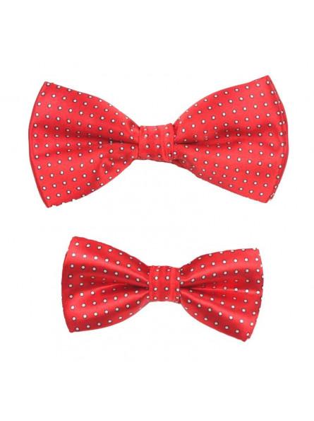 Bra för hela familjen officiell butik Röd prickig fluga i storlekar till både barn och vuxna - Gratis frakt!