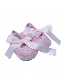 Ballerinaskor - Ljusrosa