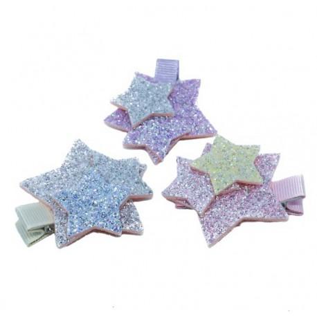Tre Stjärnor - Hårklämma