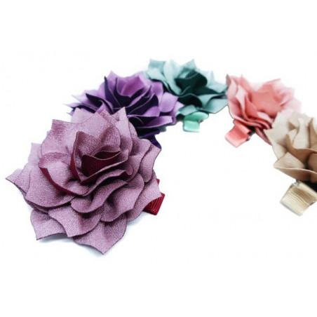Skimrande blomma - Hårklämma