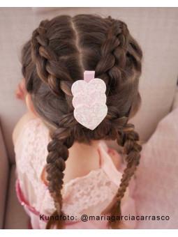 Tre Hjärtan på rad - Hårklämma