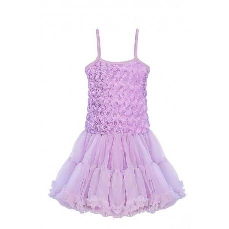 Lavendel - Tyllklänning deluxe
