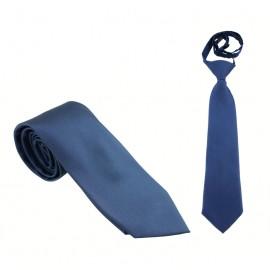 Midnattsblå slips - Siden - Stor och liten