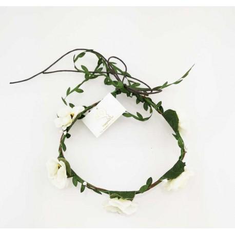 Blomsterkrans - Cremevit