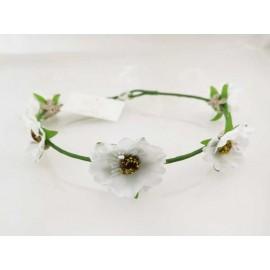 Blomsterkrans - Vit