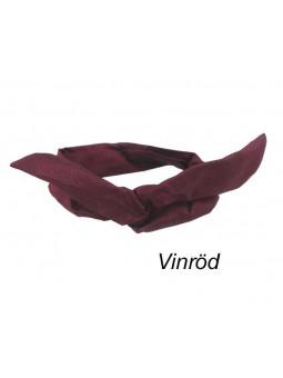 Hårband - Wire Twist Siden