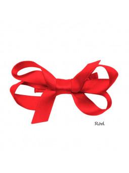Hårklämmor - Iris Rosetten Satin Mini