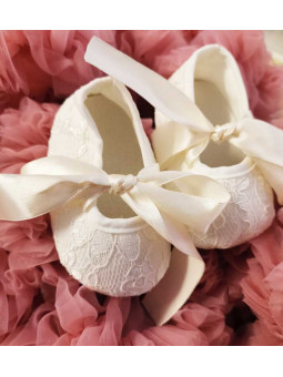 Ballerinaskor - Creme