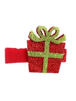 Hårklämma Jul Glitter- Paket
