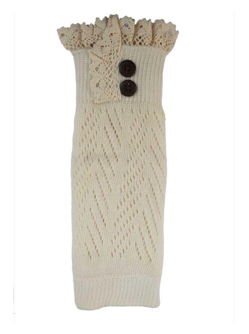 Benvärmare spets - Ivory