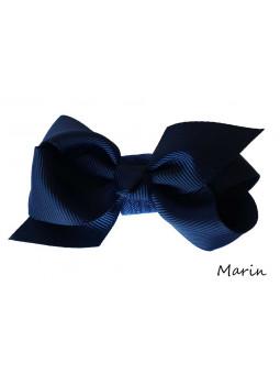 Hundrosett - Iris Liten Marinblå