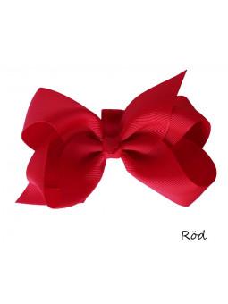 Hundrosett - Iris Stor Röd