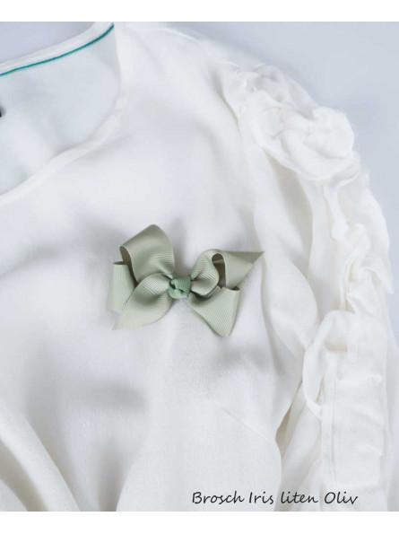Rosettbrosch - Iris Liten oliv