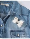 Rosettbrosch - Iris Liten creme