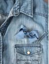 Rosettbrosch - Iris Liten jeans