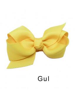 Rosettbrosch - Iris Stor Gul