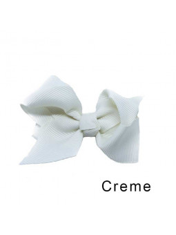 Rosettbrosch - Iris Stor Creme