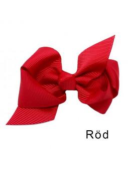 Rosettbrosch - Iris Stor Röd