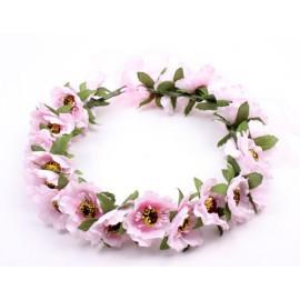 Blomsterkrans - Rosa