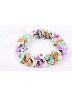 Blomsterkrans - 5 färger
