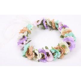 Blomsterkrans - Flerfärgad